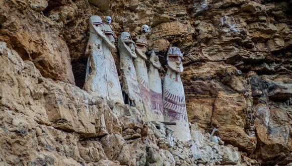 Los sarcófagos alcanzan los 2.50 metros de alto.(Foto: Shutterstock)