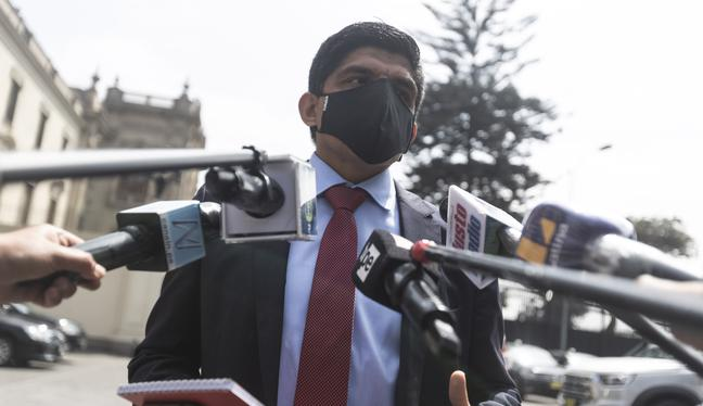 Juan Carrasco Millones también indicó que el presidente Pedro Castillo será quien determine la situación de los ministros. (Foto: archivo GEC)
