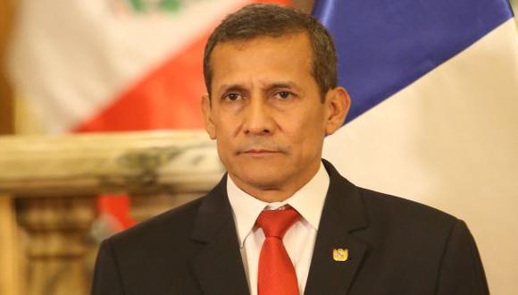 """""""Esta es una crisis institucional originada por círculos cercanos al Presidente y peligrosamente usada por el Congreso"""", señaló Humala Tasso. (Foto: GEC)"""