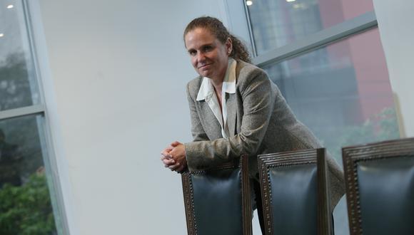 Claudia Cooper, presidenta de Perumin y ex titular del MEF. (Foto: GEC)
