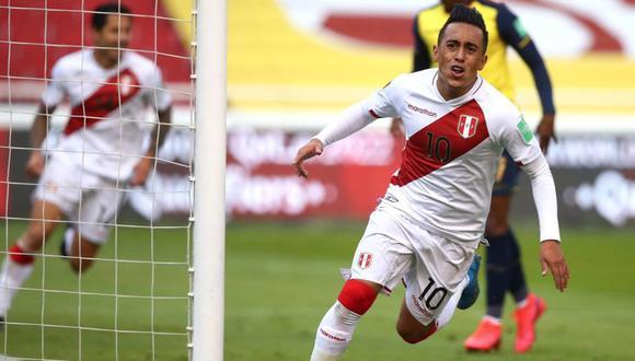 La selección peruana venció 2-1 a Ecuador en Quito en la última jornada de las Eliminatorias. (Foto: FPF)