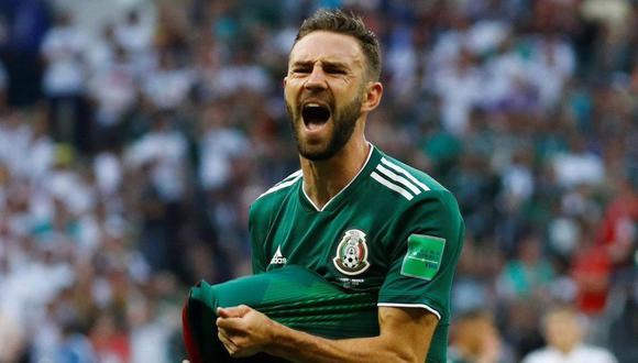 Miguel Layún participó en la última Copa del Mundo con México. (Foto: EFE)