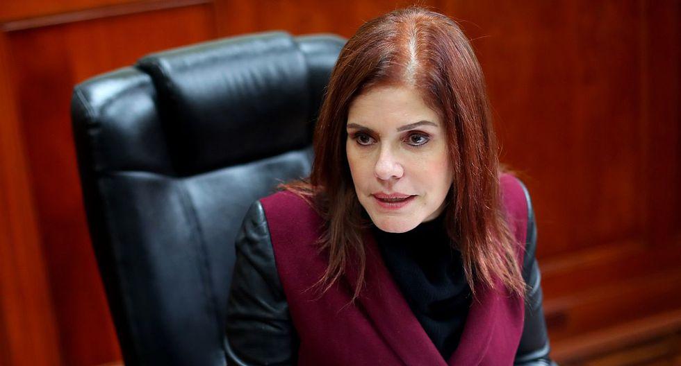 La vicepresidenta Mercedes Araoz dijo estar sorprendida por la orden de detención preliminar contra PPK. (Foto: GEC / Video: Canal N)