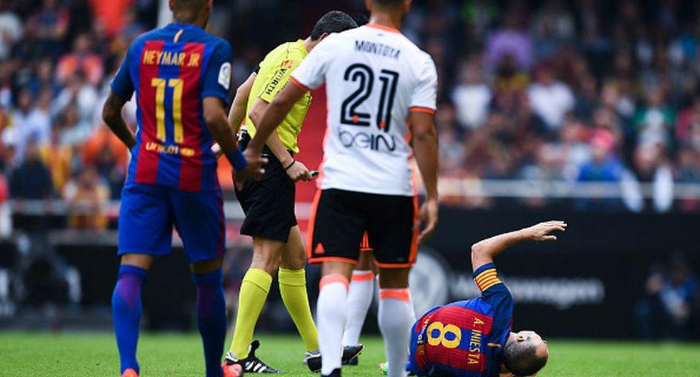 Barcelona: Iniesta y las dolorosas imágenes de su lesión - 3