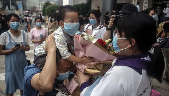 Coronavirus en Beijing, China   Ultimas noticias   Último minuto: reporte de infectados y muertos en Beijing sábado 11 de julio del 2020   Covid-19. (Foto: EFE/EPA/WU HONG).