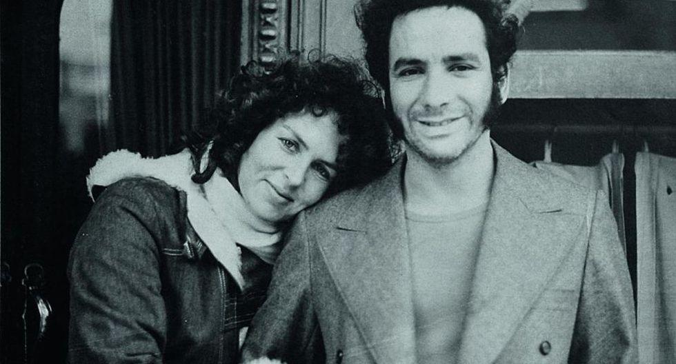 Buenos Aires, Julio de 1977. Foto de Lucho Hernández y Betty Adler , su eterno amor.