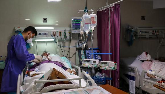 Coronavirus en Irán   Últimas noticias   Último minuto: reporte de infectados y muertos lunes 02 de agosto del 2021   (Foto: Wana News Agency vía Reuters).