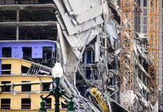 El impactante momento en que un Hard Rock Hotel en construcción colapsa en Estados Unidos | VIDEO