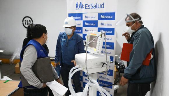 Coronavirus en Perú: más de seis regiones se beneficiarán con 50 ventiladores mecánicos recién adquiridos (Foto referencial).
