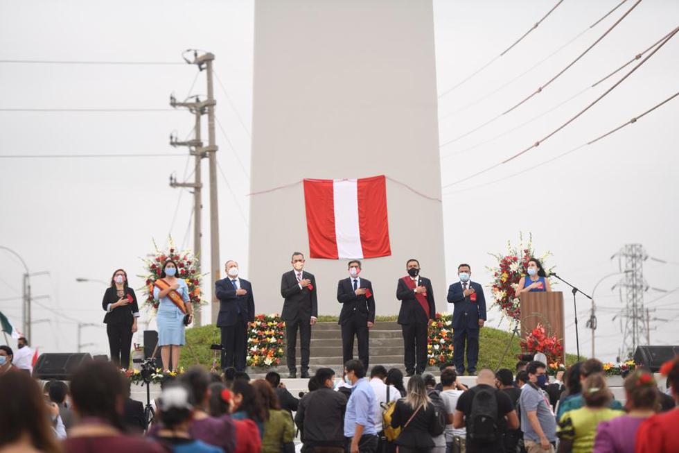 Hoy se realizó la ceremonia por los 200 años de la independencia de Trujillo y el recibimiento de los restos de José Bernardo de Tagle, IV marqués de Torre Tagle, en su última morada: la Catedral de Trujillo. (Foto: Proyecto Especial Bicentenario)
