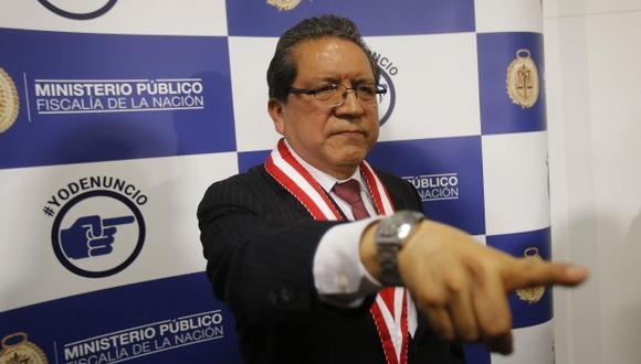 Pablo Sánchez formó un equipo de fiscales para que se dedicara exclusivamente a investigar delitos de corrupción de funcionarios vinculados al caso y nombró a Hamilton Castro como cabeza del grupo. (Foto: Archivo El Comercio)