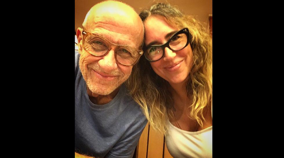 Francesca Brivio comparte fotos personales con Miki González.