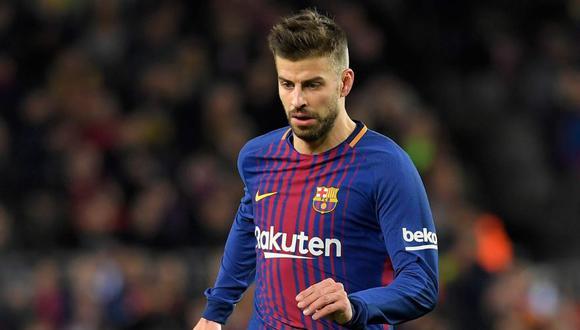 Gerard Piqué se queda en el Barcelona: renovó hasta 2022. (Foto: Agencias)