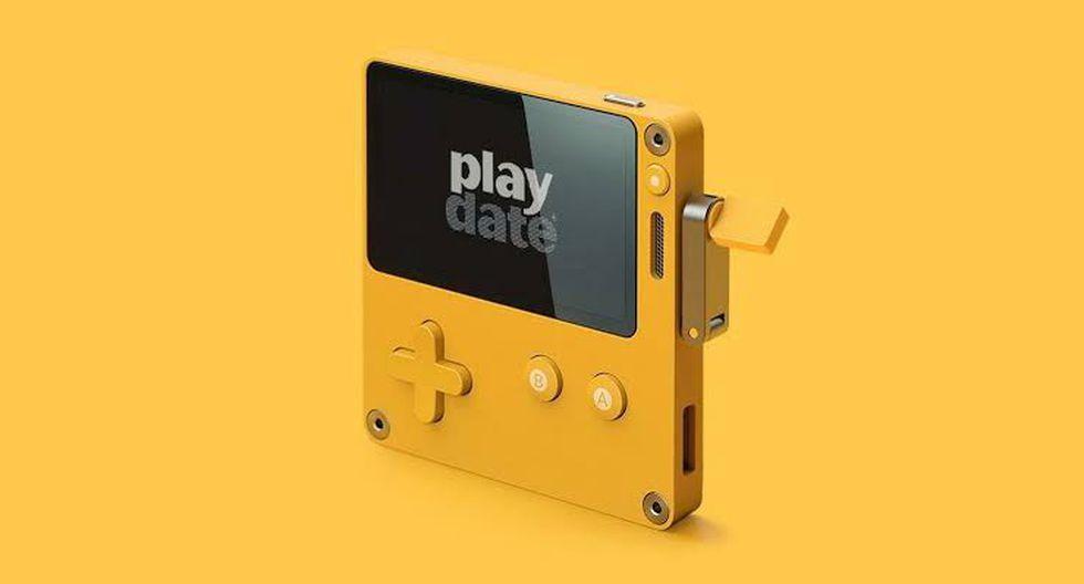 La PlayDate cuenta con una manivela en uno de los laterales. (Difusión)
