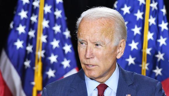 Joe Biden defendió a Kamala Harris de los ataques de Donald Trump. (Foto: MANDEL NGAN / AFP).