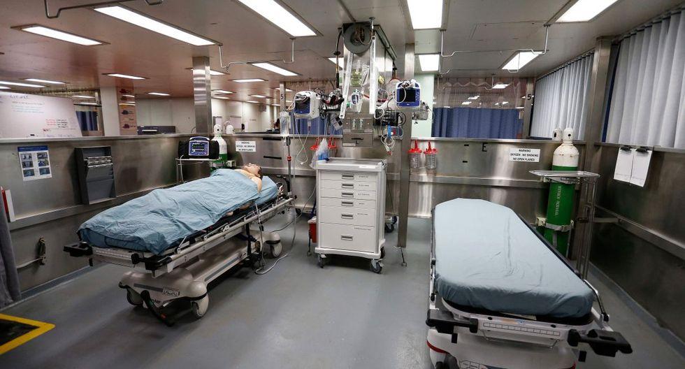 EL USNS Comfort cuenta con 1.000 camas hospitalarias, 80 de ellas en la unidad de cuidados intensivos, y todas las instalaciones y equipos de un hospital.(Foto: AFP)