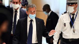 Expresidente francés Nicolas Sarkozy condenado a 3 años de cárcel por corrupción