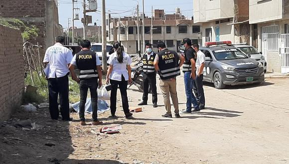 Policías llegaron al lugar para recabar información del incidente. (Foto: PNP)