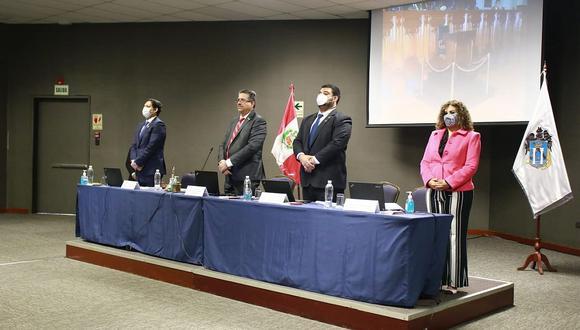 La Mesa Directiva del Congreso viajó a Trujillo para dirigir la sesión plenaria (Foto: Congreso de la República)
