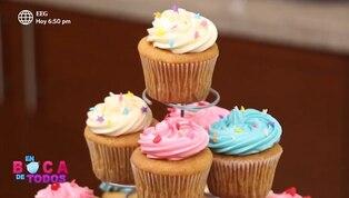 Tres minutos de dulzura: cupcakes fáciles y deliciosos