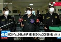 Jesús María: Minsa entregó camas UCI al hospital de la PNP