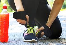 ¿Cómo debo hidratarme mientras corro?