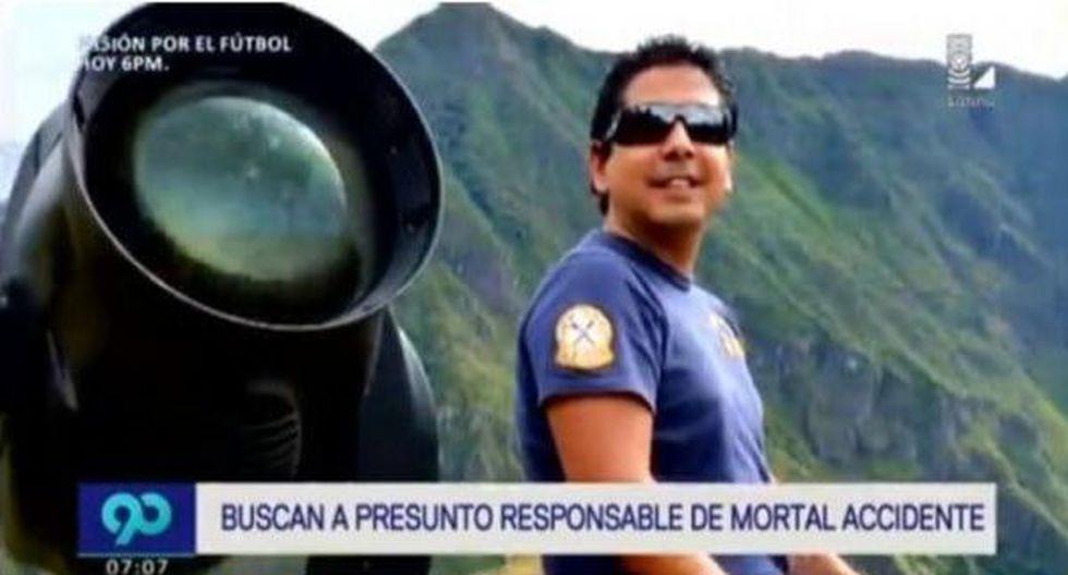 Abogado aseguró que el empresario Guillermo Riera viajó a Estados Unidos pocas horas después del accidente para encontrarse con su esposa, quien se encuentra en Miami. (Canal N)