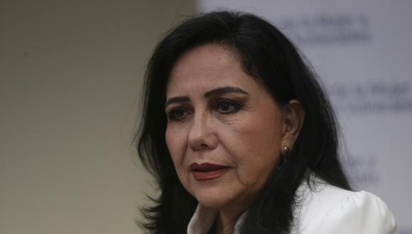 """En comparación con el año pasado, Gloria Montenegro detalló que se reportaron """"más de 10 feminicidios"""". (Foto: GEC)"""