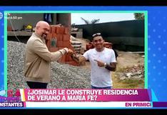Josimar sorprendió al mostrar la construcción de su exclusiva casa de verano