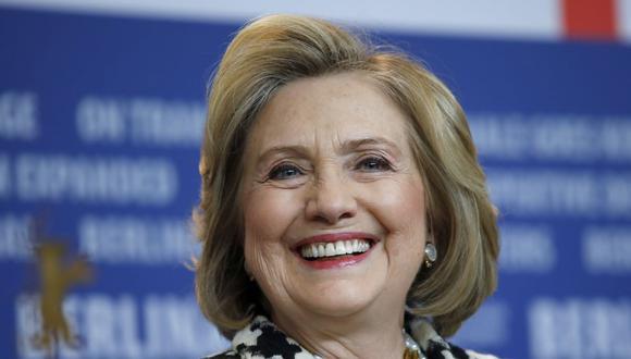 "Hillary Clinton celebra que Estados Unidos haya ""repudiado"" finalmente a Donald Trump y felicita a Joe Biden. (DAVID GANNON / AFP)."