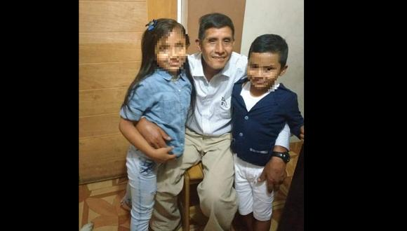 Así es recordado Jacinto Maldonado Tumbay por su familia. (Foto: Cortesía)