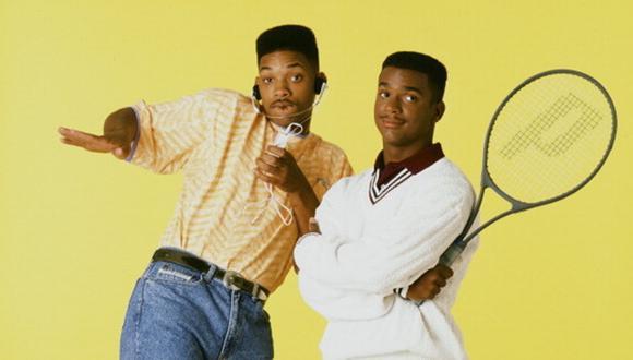 """""""El príncipe del rap"""", con Will Smith y Alfonso Ribeiro, duró seis temporadas. Los actores se reunieron en Instagram. (Foto: NBC)"""