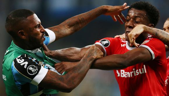 Gremio vs. Internacional por Libertadores. (Foto: AFP)