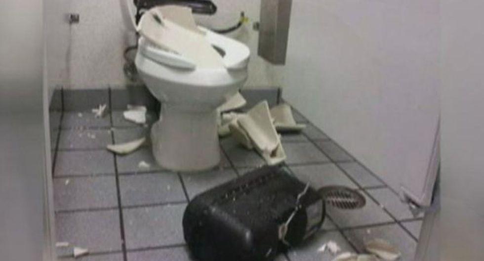 Cuidado con los inodoros que explotan