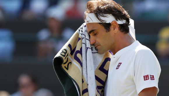 El suizo Roger Federer no pudo ante la solidez del sudraficano Kevin Anderson quien lo doblegó en 5 sets con parciales (2-6, 6-7, 7-5, 6-4, 13-11). (Foto: Reuters)