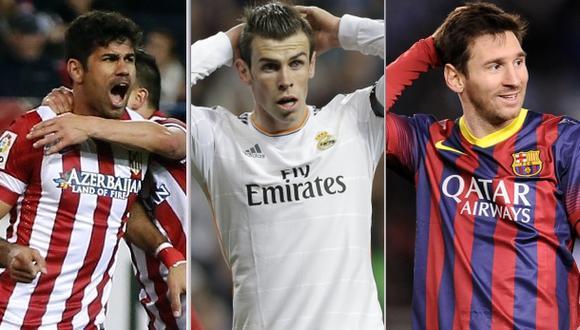 Tabla de posiciones de la Liga española a 5 fechas del final