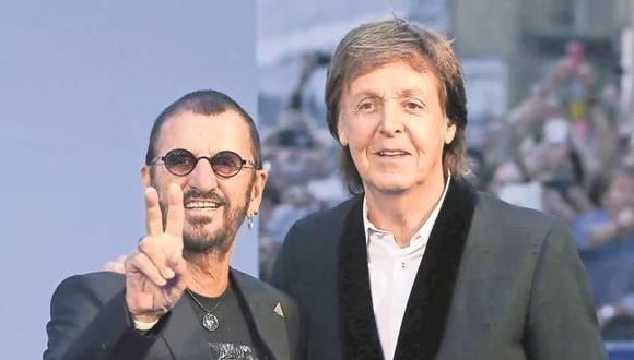 Ringo Starr convocó a Paul McCartney para juntos llevar a cabo un cover de una canción de John Lennon. (Foto: Reuters)