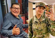 Dilbert Aguilar dedica emotivas palabras a su hija que ingresó al ejercito de EE.UU.
