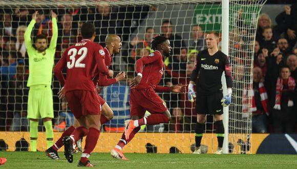 Barcelona vs Liverpool | Champions League (2019) | Ida: 3-0 | Vuelta: 0-4 | Global: 3-4. (Foto: AFP)
