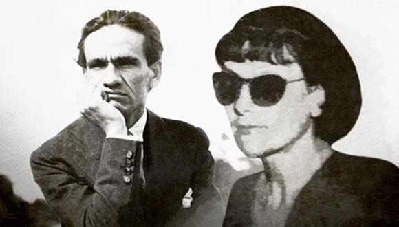 Georgette llegó a Lima en 1951 y fue entrevistada por el decano. Ilustración de Rolando Pinillos/ El Comercio