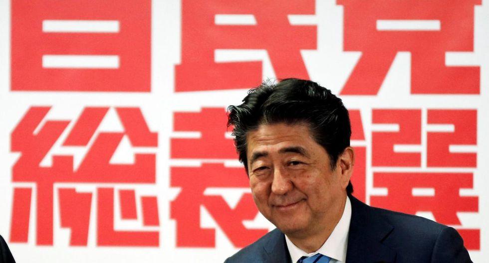 Shinzo Abe, primer ministro japonés, toma el lado de May en el dilema Brexit. (Foto: Reuters)