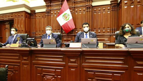 El presidente del Congreso, Manuel Merino de Lama, convocó a una sesión virtual del pleno para este jueves. (Foto: Congreso)