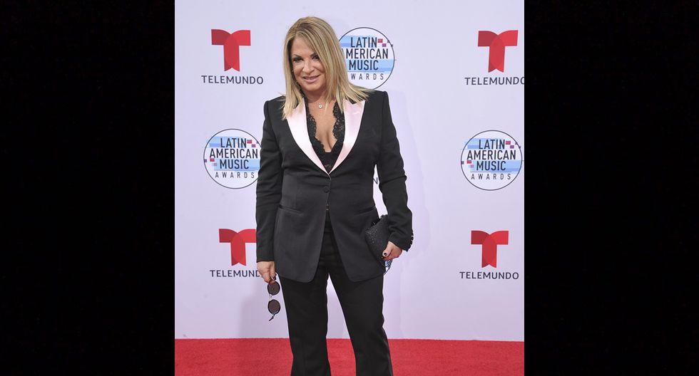 Ana Maria Polo en los Latin American Music Awards 2019.