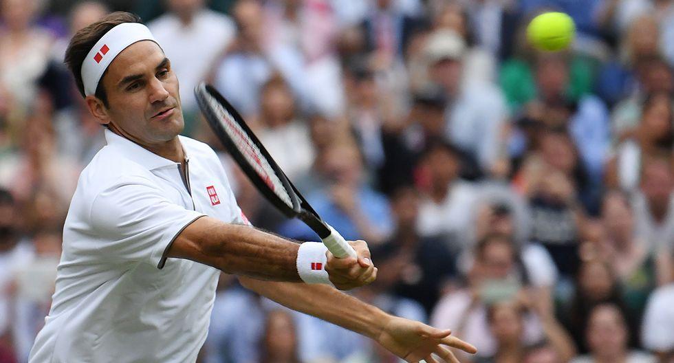 Roger Federer es uno de llos favoritos para ganar en Wimbledon. (Foto: AFP)