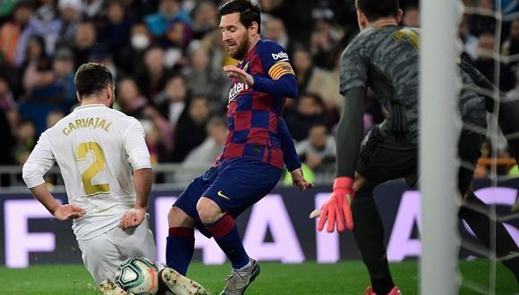 ¿Cómo ver el Barcelona vs Real Madrid en directo? Conoce todas las formas de seguir el partido  de fútbol en vivo y en directo por TV y online. (Foto: AFP)