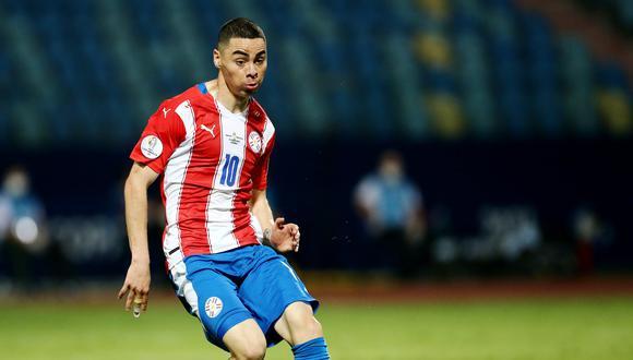 Miguel Almirón, figura de la selección de Paraguay en la Copa América. REUTERS/Diego Vara