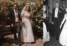 Beatriz de York rescató un vestido de su abuela (la reina Isabel II) para el día de su boda   FOTOS