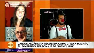 Carlos Alcántara contó cómo creó a su personaje de 'Machín' en Pataclaun