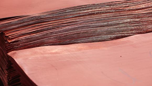 Una nueva etapa de la corrección podría llevar el cobre de la LME a alrededor de US$ 9,600 la tonelada. (Foto: Bloomberg)