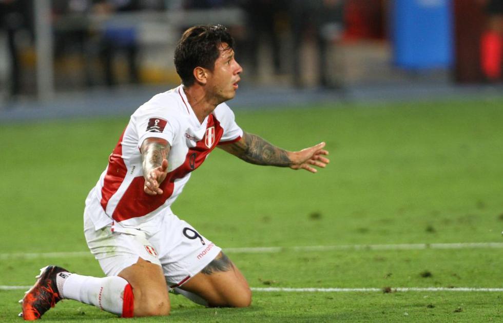 Gianluca Lapadula jugó 120 minutos con Perú  FOTO: FPF